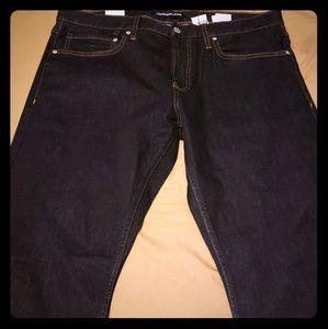 Calvin Klein slim dark Blue wash Jean's. 36x30